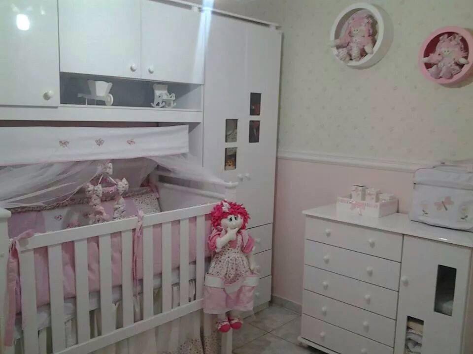 INSPIRAÇÕES DE QUARTOS INFANTIS DAS LEITORAS! Senta que  ~ Quarto Rosa De Princesa