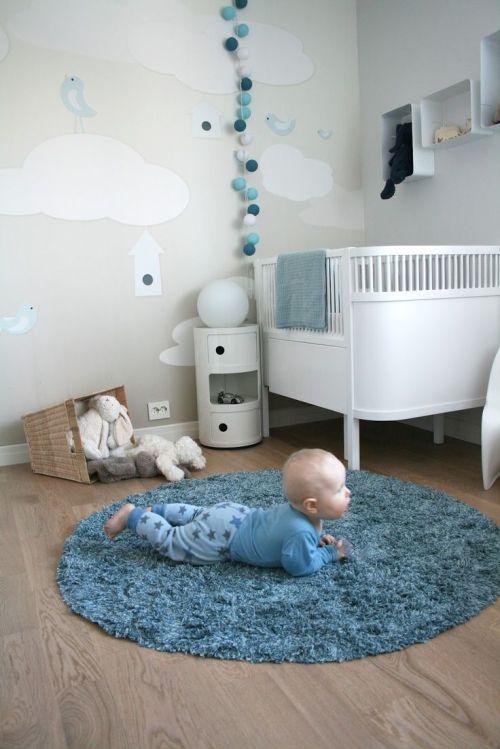 Esse quarto ficou simplesmente: MUITO FOFO, sem mais, rsrs. Imagem: Pinterest