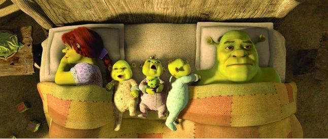 familia shrek