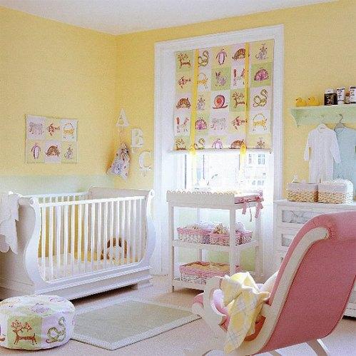 quarto-de-menina-recem-bebe-rosa