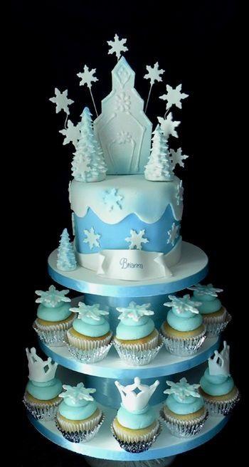 bolo frozen cupcakes