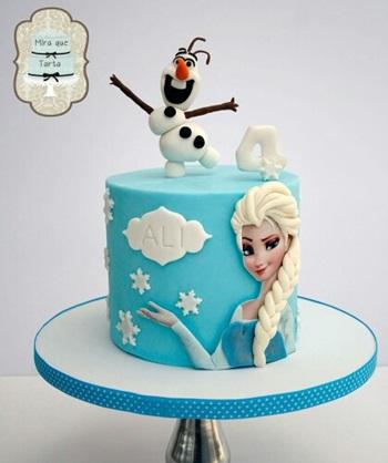 bolo frozen inspire sua festa