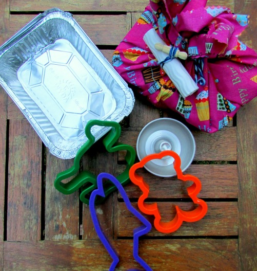 Kit mini chef bolacha para picnic