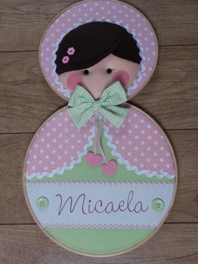 quadro maternidade Micaela