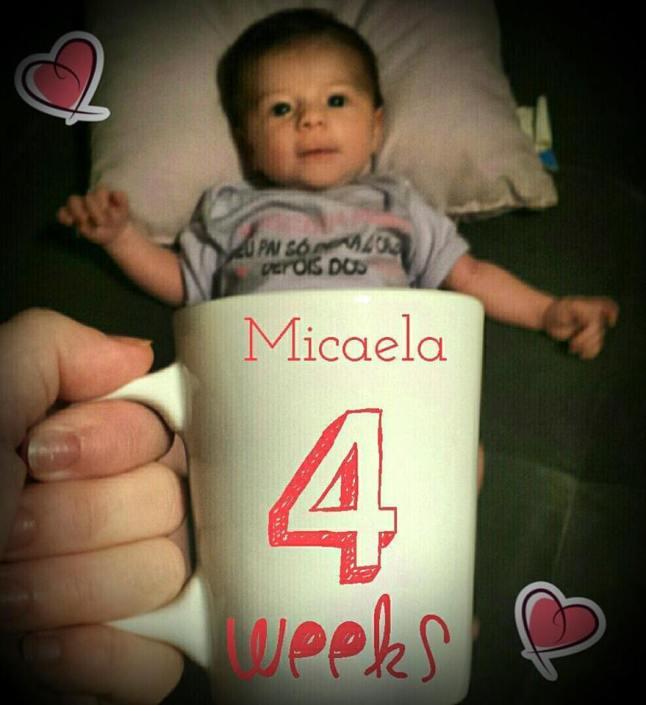 4 semanas micaela