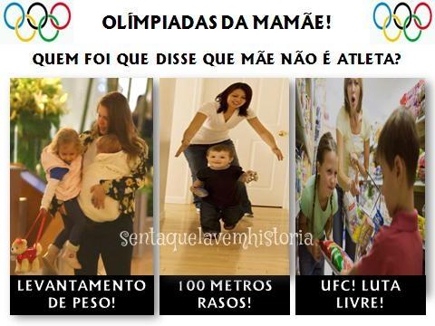 olimpiadas da mamãe