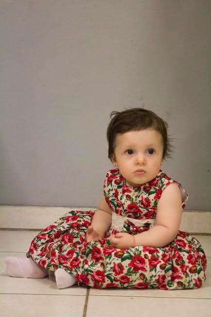 Princesinha linda essa Helena!
